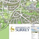 Surrey university map HR